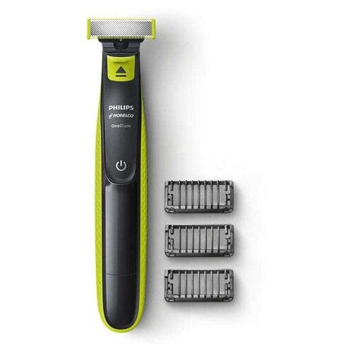 Norelco QP2520/70 OneBlade Mens Beard Trimmer with Dual Protection System - FLJ CORPORATIONS