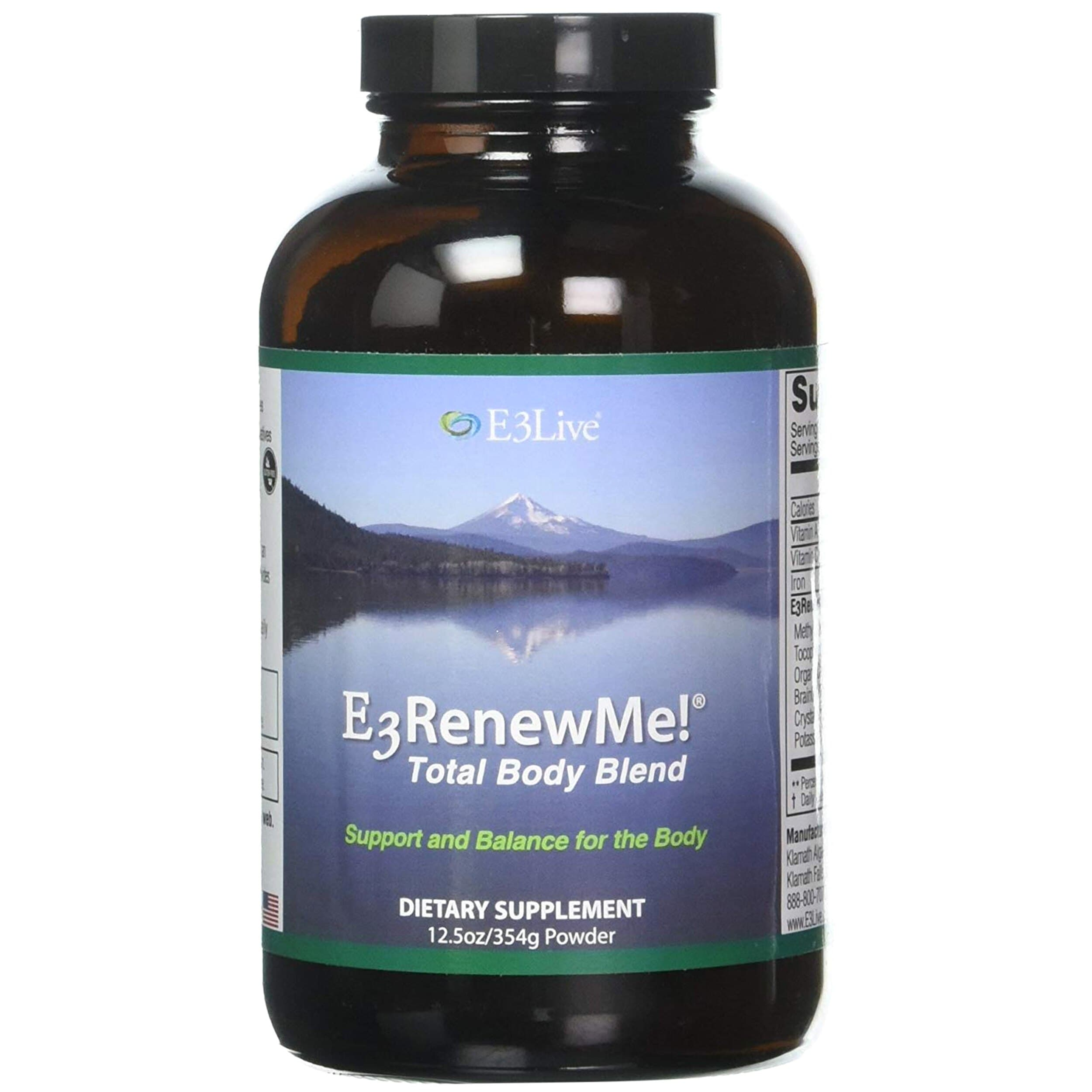E3 Renew Me! Total Body Blend Powder; 354 grams - FLJ CORPORATIONS