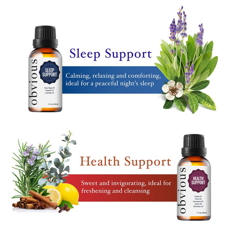 Obvious Health Support Essential Oil Blend - 100% Pure Therapeutic Remedy - 1 oz. - FLJ CORPORATIONS