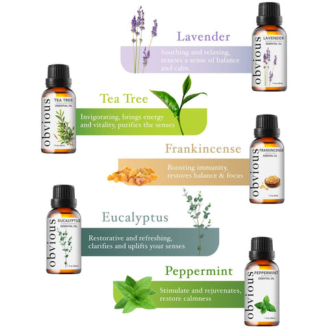 Pure Peppermint Essential Oil - Therapeutic Grade Mentha Piperita for Aromatherapy - 1 oz. - FLJ CORPORATIONS