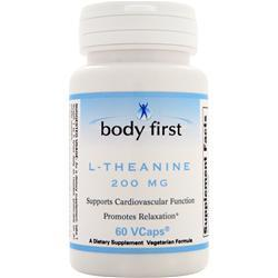 Body First L-Theanine (200mg) 60 vcaps - FLJ CORPORATIONS