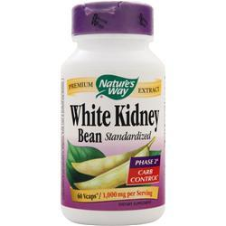 Nature's Way White Kidney Bean (1,000mg) - Standardized 60 vcaps - FLJ CORPORATIONS