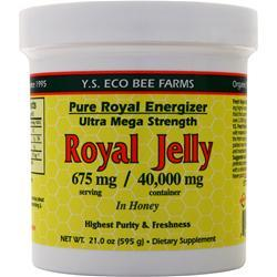 Y.S. Eco Bee Farms Royal Jelly (675mg) 21 oz - FLJ CORPORATIONS