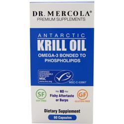 Dr. Mercola Antarctic Krill Oil 60 caps - FLJ CORPORATIONS