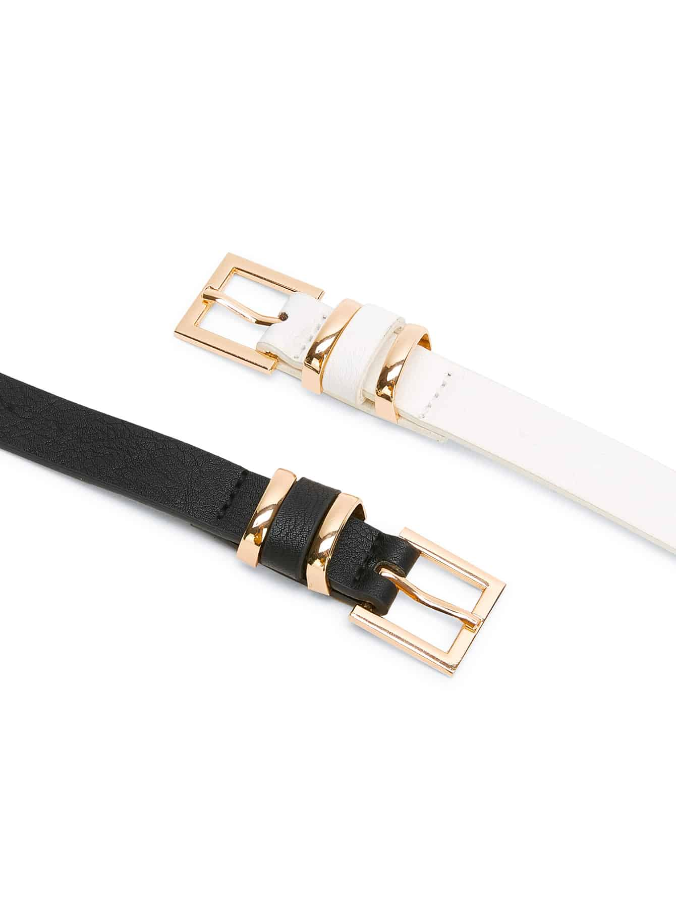 Metal Buckle Belt 2pcs - FLJ CORPORATIONS