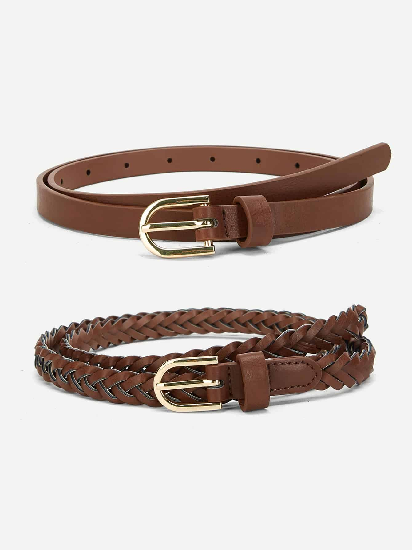 Woven Belt 2pcs - FLJ CORPORATIONS