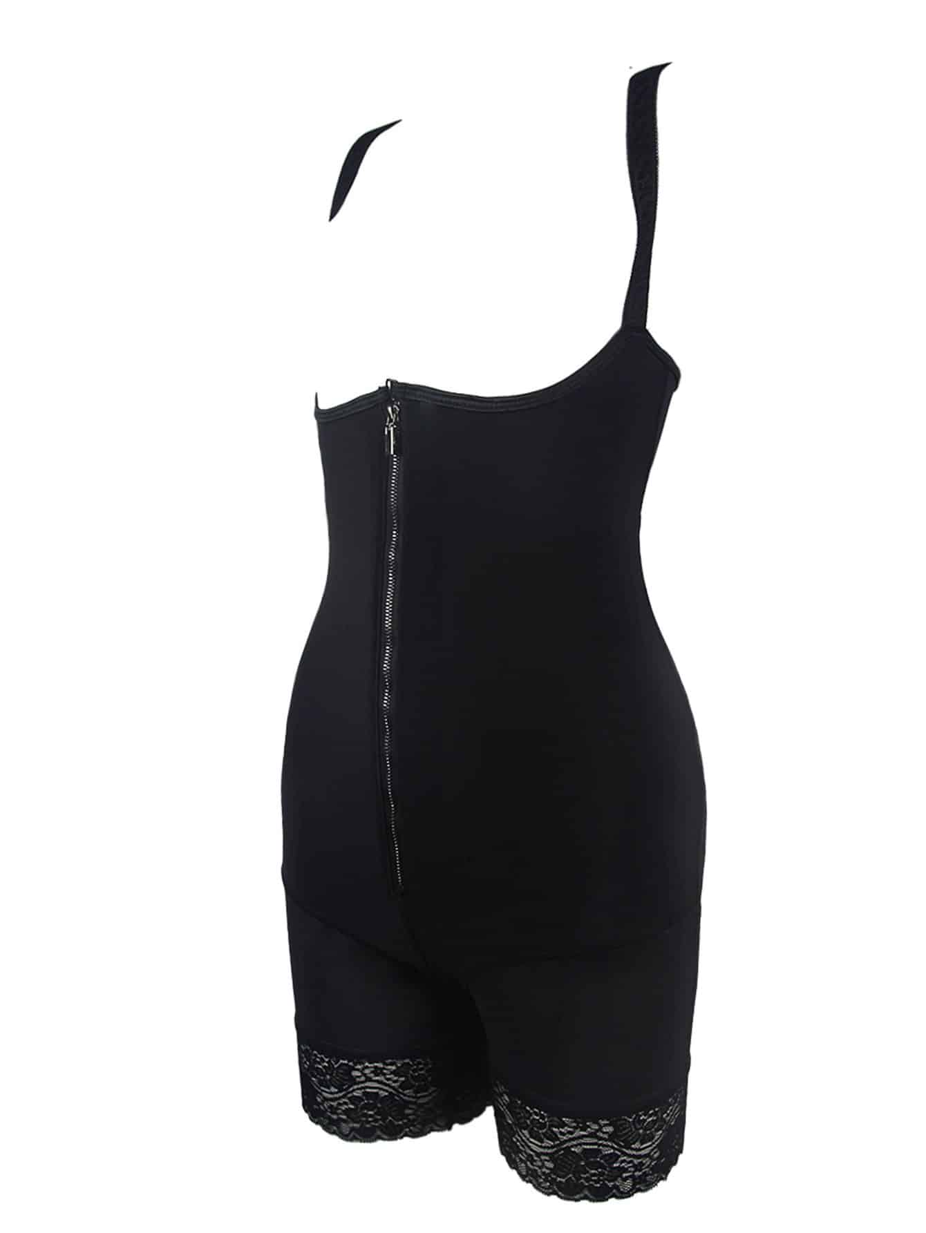 Plus Zip Front Body Sculpting Underwear - FLJ CORPORATIONS