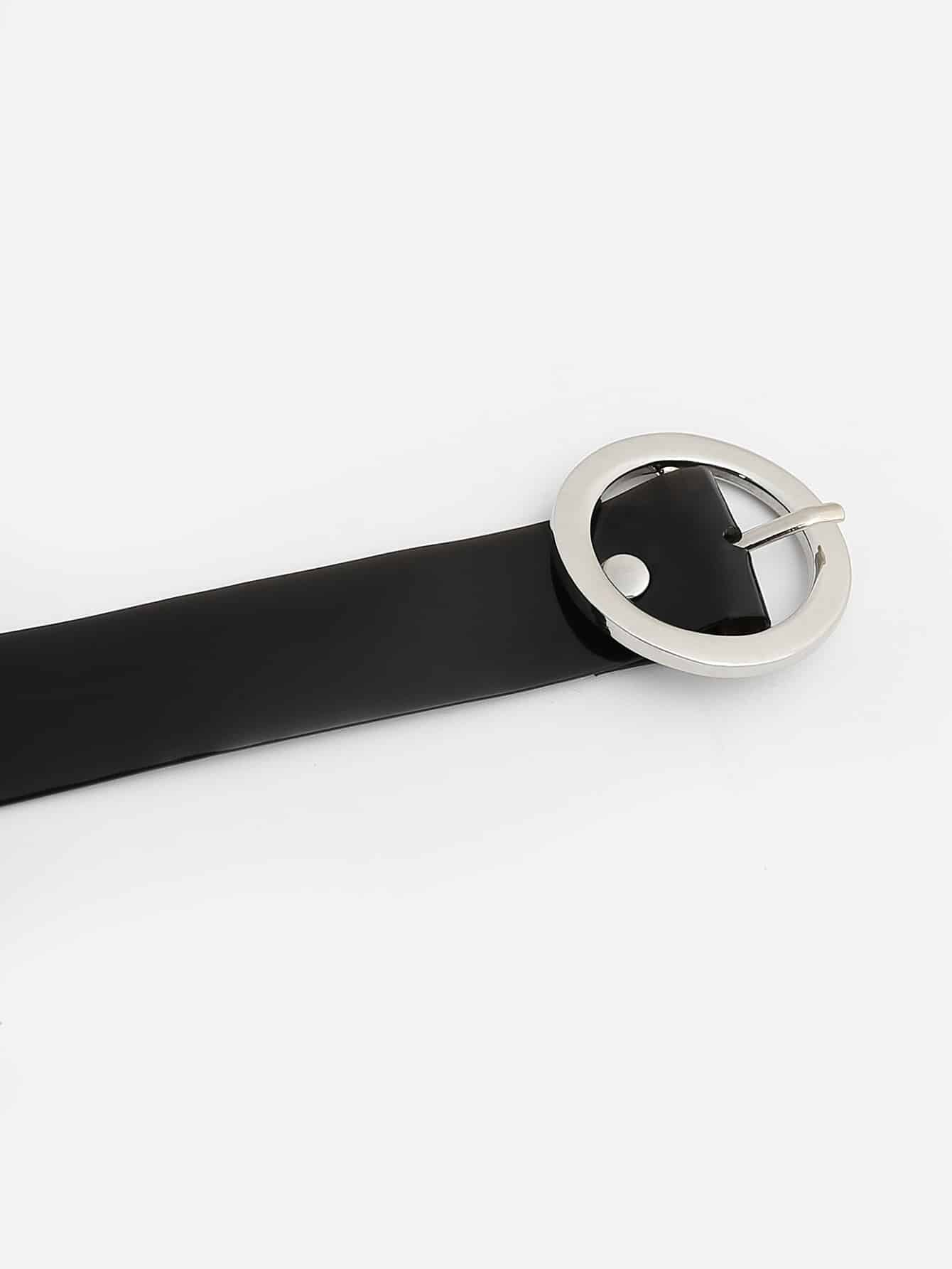 Round Metal Buckle Belt - FLJ CORPORATIONS