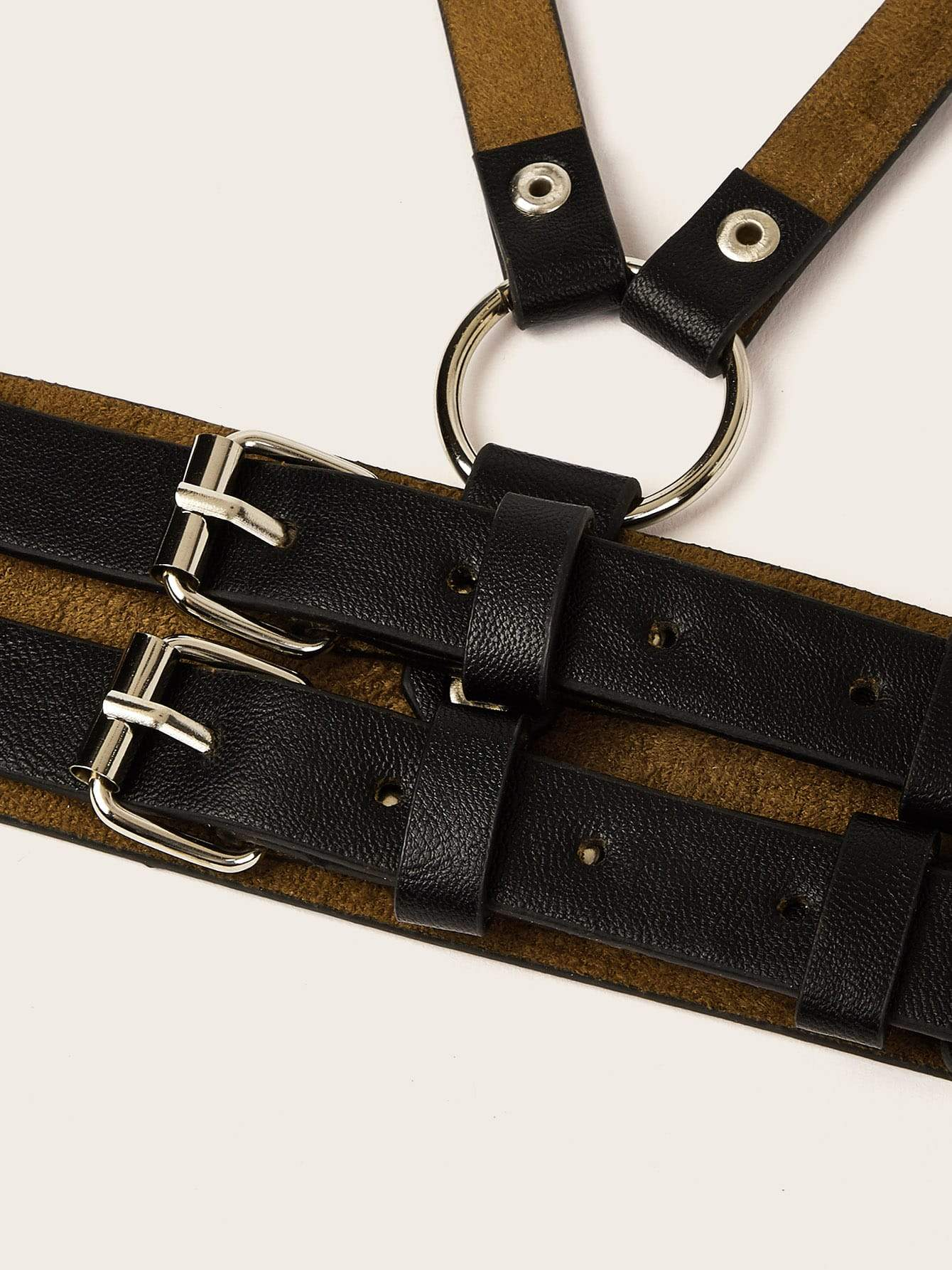 Studded Detail Harness Belt - FLJ CORPORATIONS