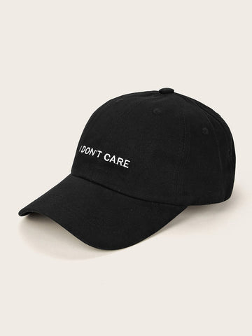 Letter Embroidery Baseball Cap - FLJ CORPORATIONS