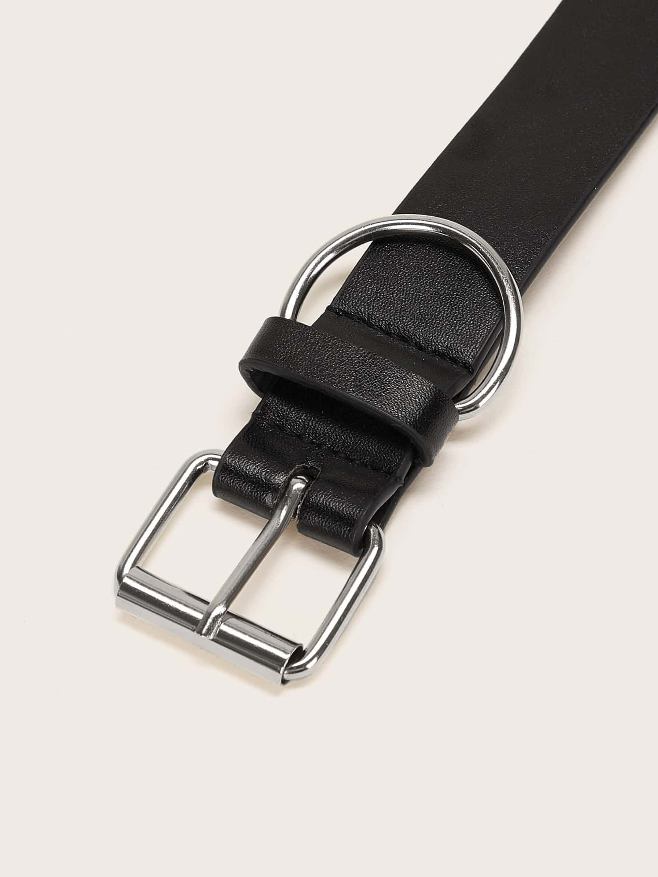 Solid Metal Buckle Belt - FLJ CORPORATIONS