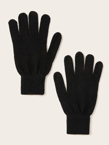 1pair Simple Knit Gloves - FLJ CORPORATIONS