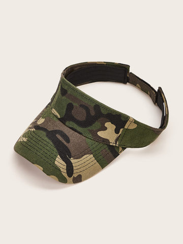 Camo Visor Hat - FLJ CORPORATIONS