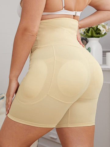 Plus High Waist Shapewear Panty