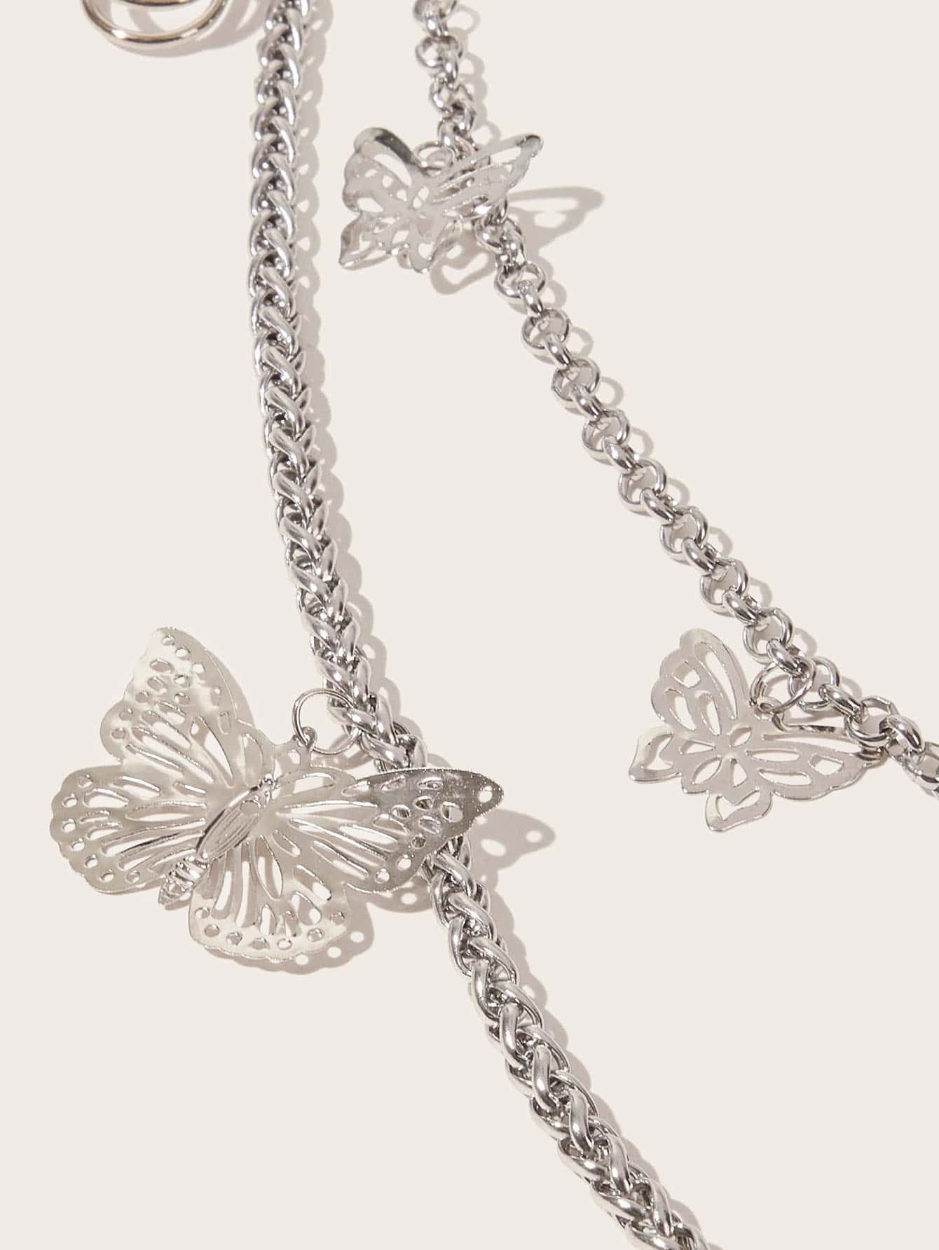 Butterfly Charm Layered Waist Chain - FLJ CORPORATIONS