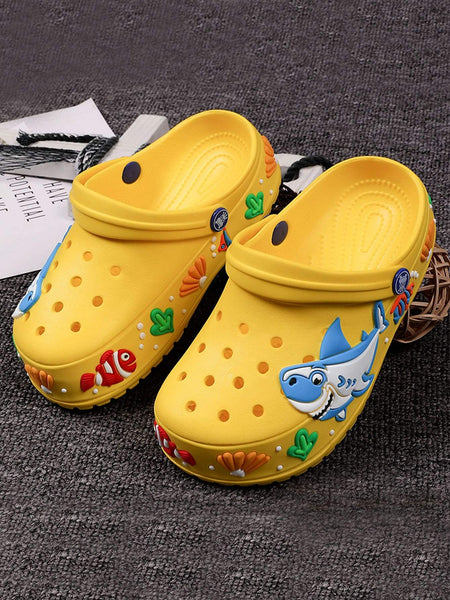 Girls Cartoon Graphic Two Way Wear Sandals - FLJ CORPORATIONS
