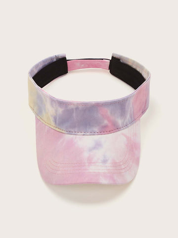 Tie Dye Visor Hat - FLJ CORPORATIONS