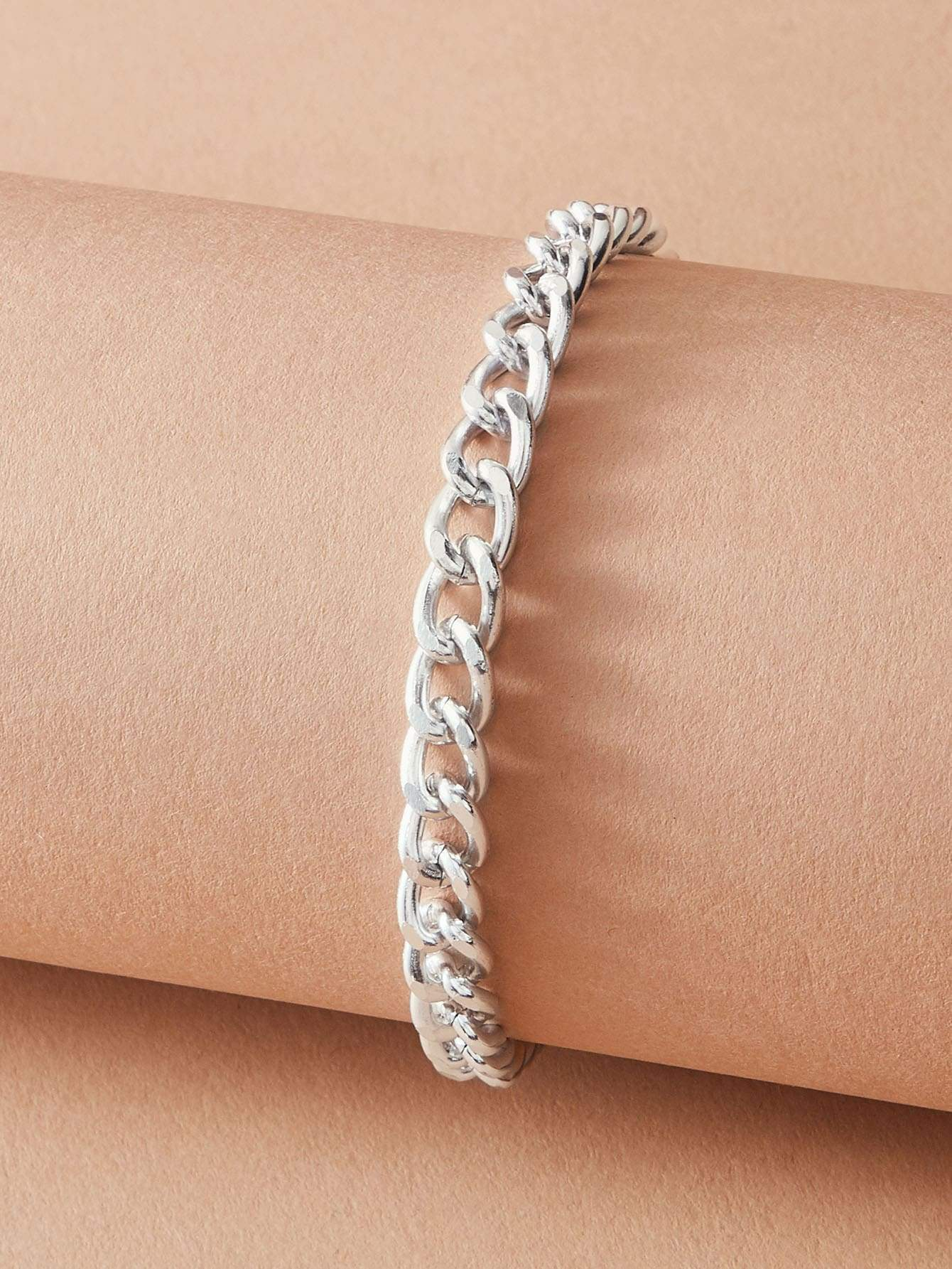 1pc Metallic Chain Bracelet - FLJ CORPORATIONS