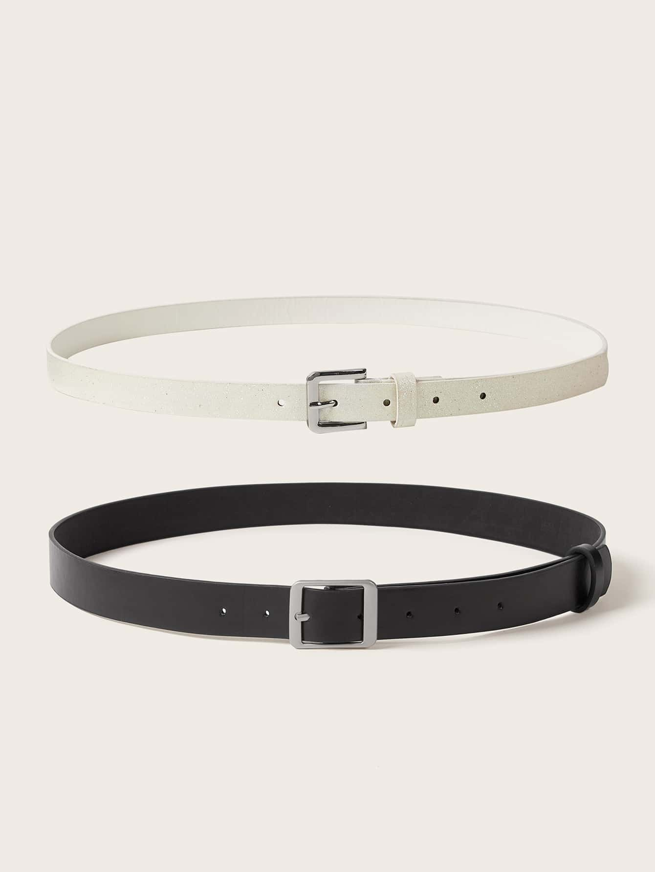 2pcs Metal Buckle Belt - FLJ CORPORATIONS