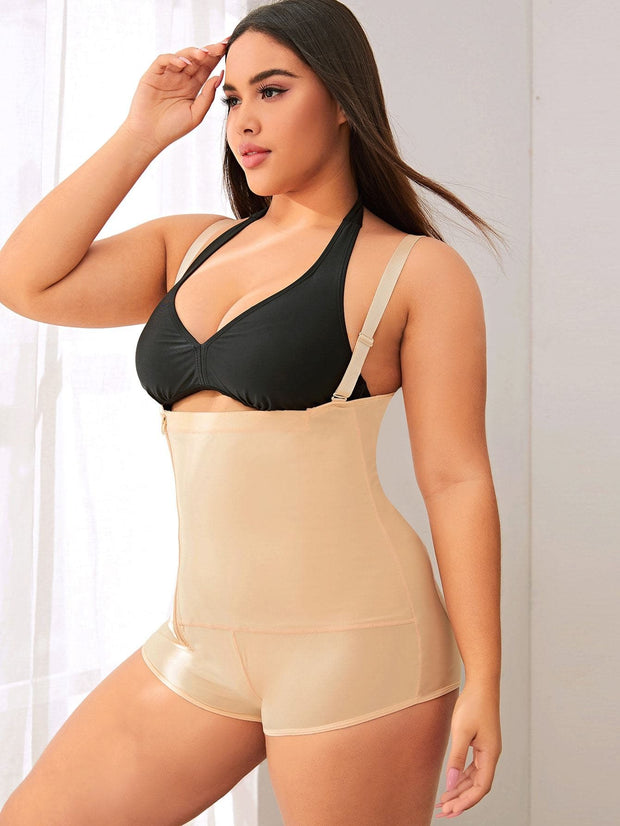 Plus Zip-up Waist Trainer - FLJ CORPORATIONS