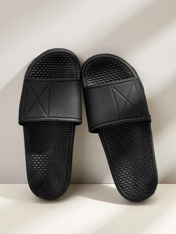 Men Open Toe Minimalist Sliders - FLJ CORPORATIONS