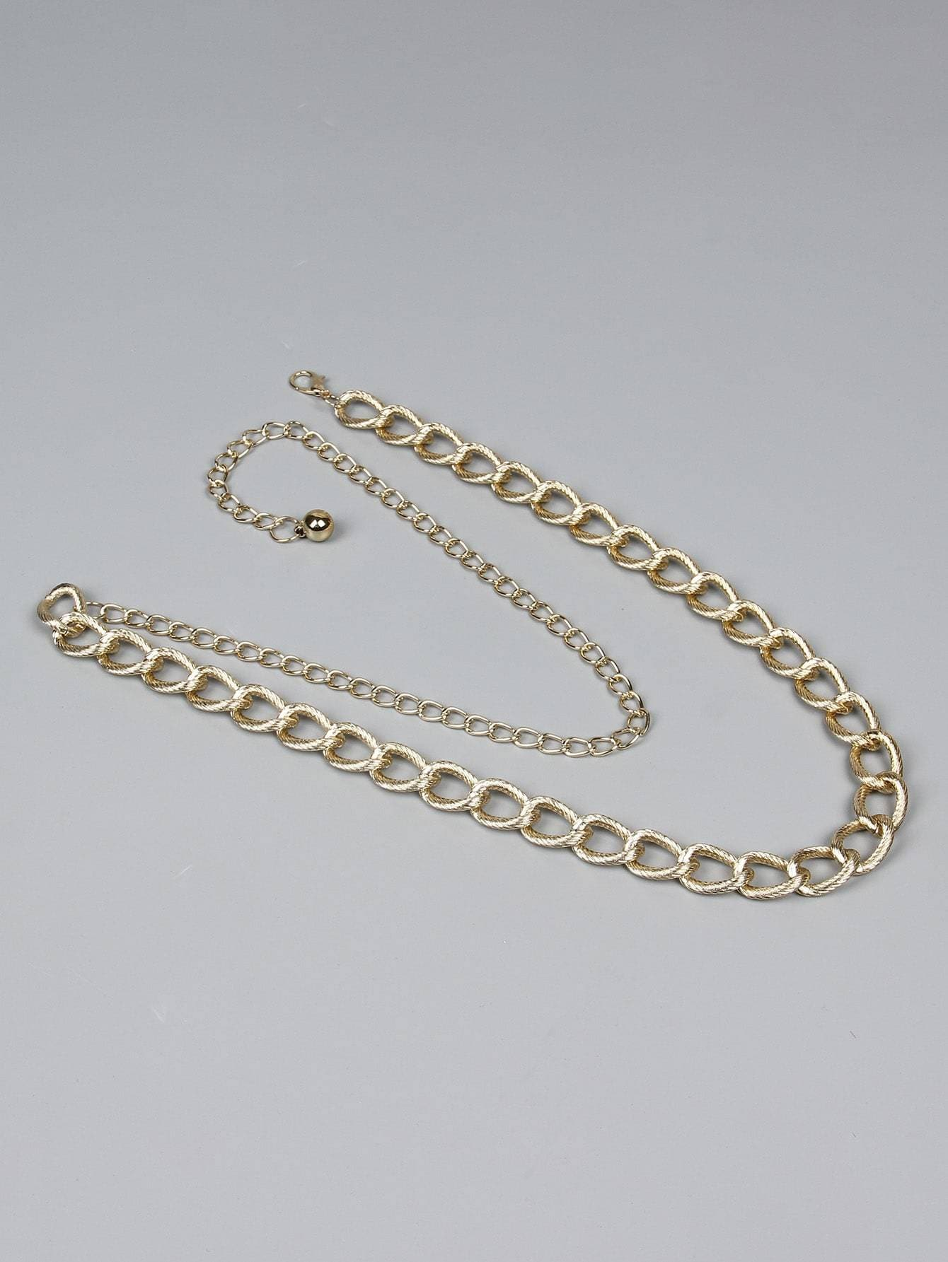 Metallic Waist Chain Belt - FLJ CORPORATIONS