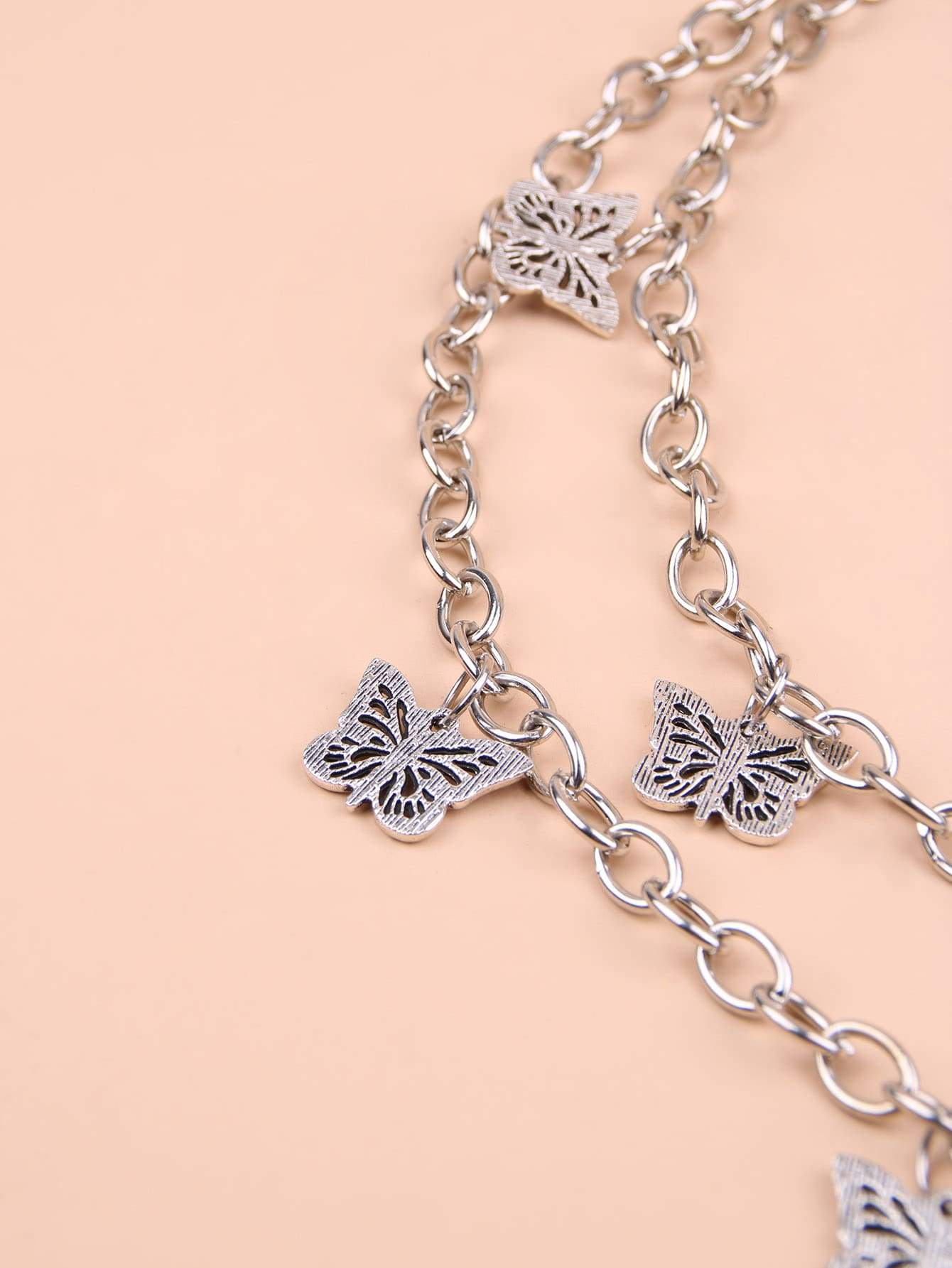 Butterfly Charm Chain Belt - FLJ CORPORATIONS