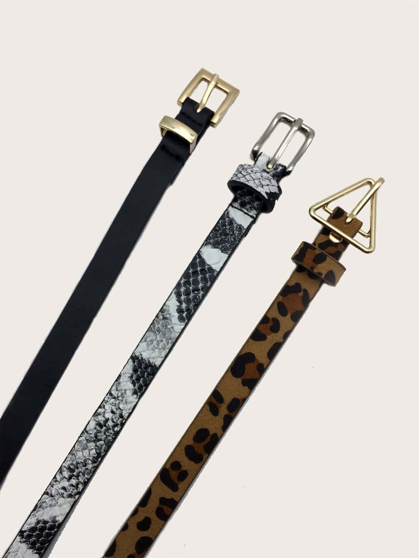 3pcs Leopard Pattern Belt - FLJ CORPORATIONS