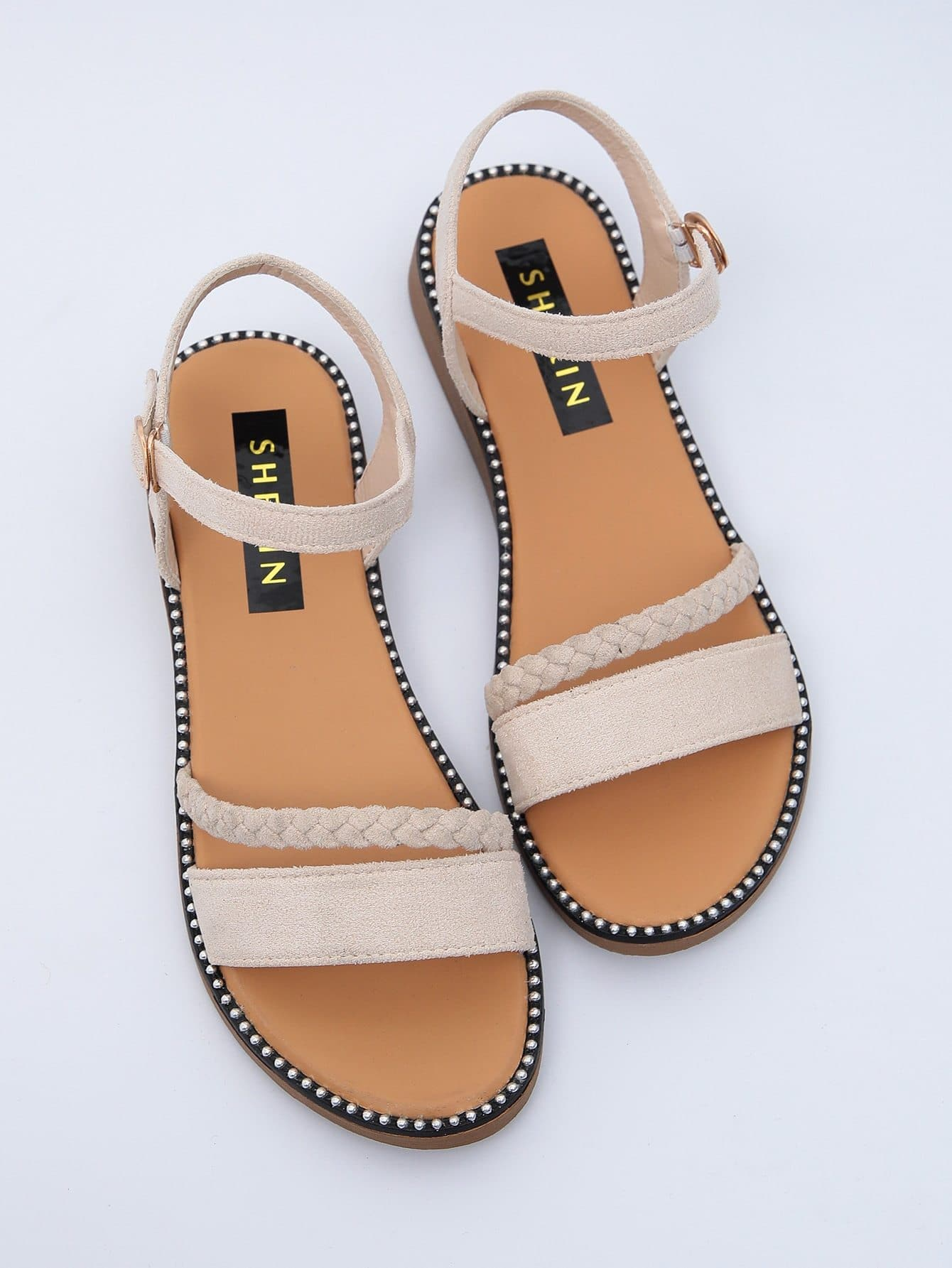 Open Toe Ankle Strap Sandals - FLJ CORPORATIONS