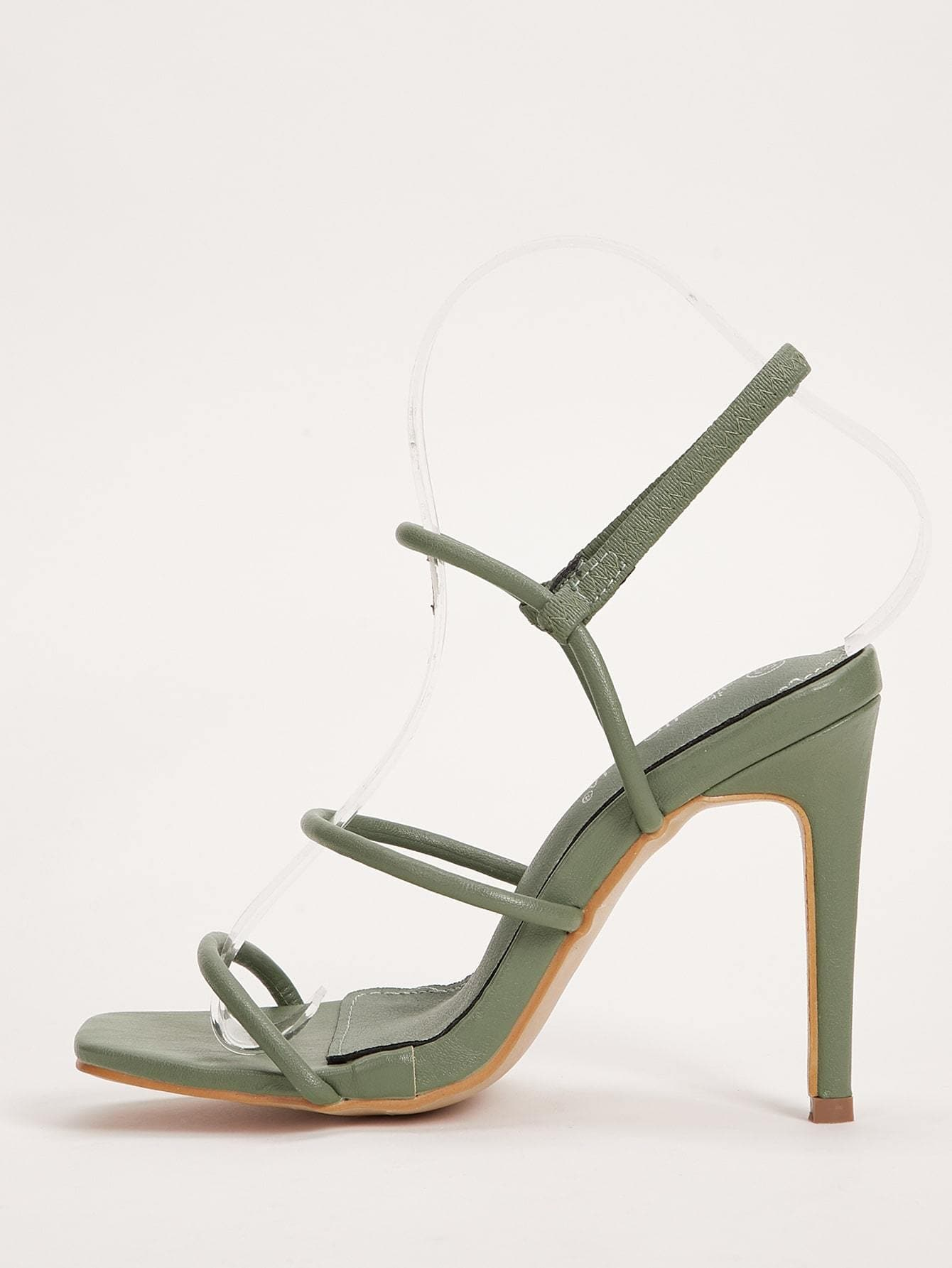 Open Toe Stiletto Heels - FLJ CORPORATIONS