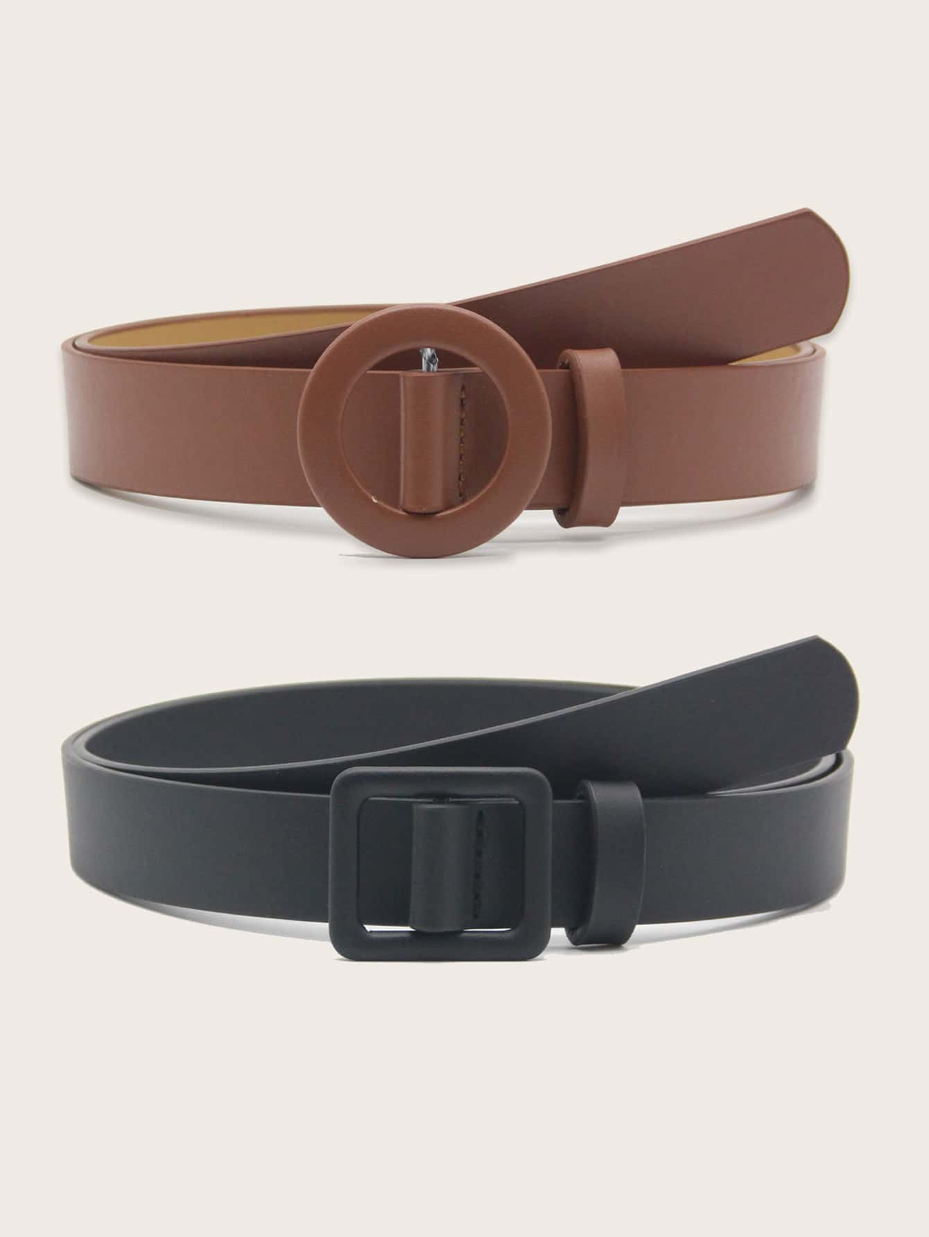2pcs Geo Buckle Belt - FLJ CORPORATIONS