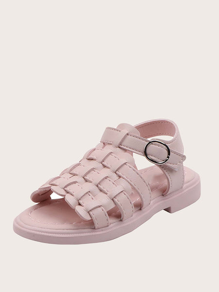 Girls Open Toe Braided Sandals - FLJ CORPORATIONS