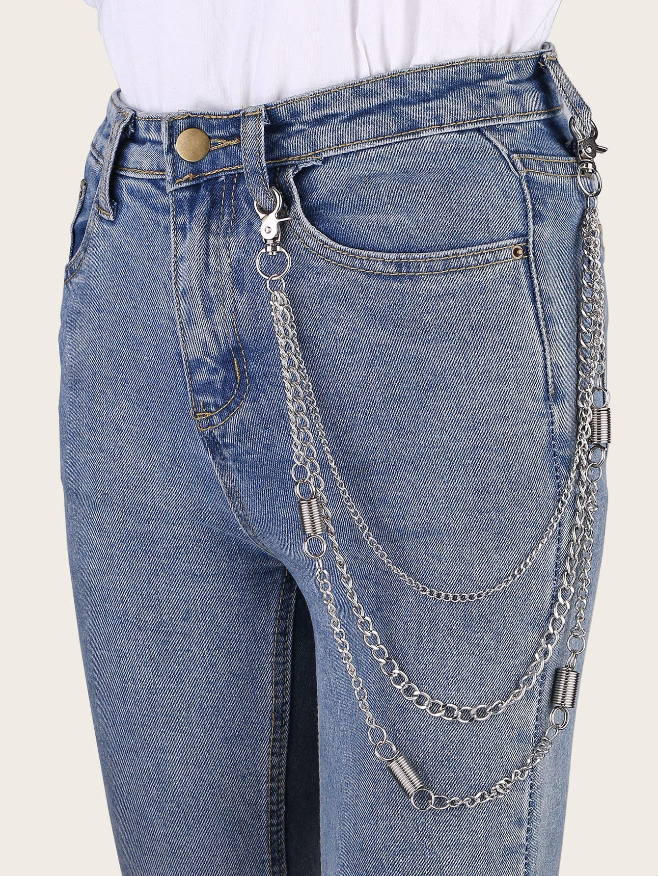 Layered Pant Chain - FLJ CORPORATIONS