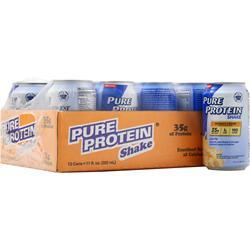 Worldwide Sports Ultra Pure Protein Shake RTD (11 fl.oz.) Banana 12 cans - FLJ CORPORATIONS