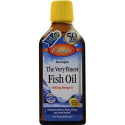 Carlson The Very Finest Fish Oil Liquid Lemon 200 mL - FLJ CORPORATIONS