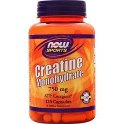 Now Creatine Monohydrate (750mg) 120 caps - FLJ CORPORATIONS