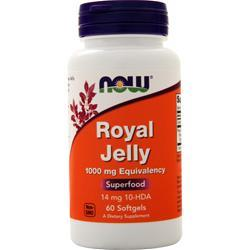 Now Royal Jelly (1000mg) 60 sgels - FLJ CORPORATIONS