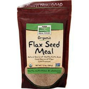 Now Flax Seed Meal - Certified Organic 12 oz - FLJ CORPORATIONS
