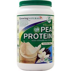 Growing Naturals Raw Yellow Pea Protein Vanilla Blast 950 grams - FLJ CORPORATIONS