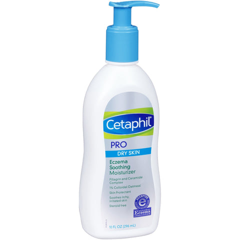 Cetaphil® PRO Dry Skin Eczema Soothing Body Moisturizer, 10 oz - FLJ CORPORATIONS