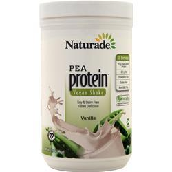 Naturade All Natural Pea Protein - Vegan Formula Vanilla 15.6 oz - FLJ CORPORATIONS
