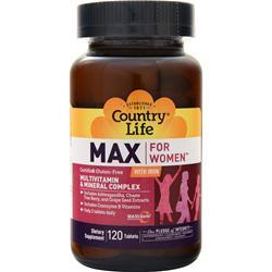 Country Life Maxine Daily Multiple for Women 120 tabs - FLJ CORPORATIONS