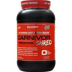 MuscleMeds Carnivor Shred Chocolate 2.28 lbs - FLJ CORPORATIONS