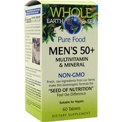 Natural Factors Whole Earth & Sea - Men's 50+ 60 tabs - FLJ CORPORATIONS
