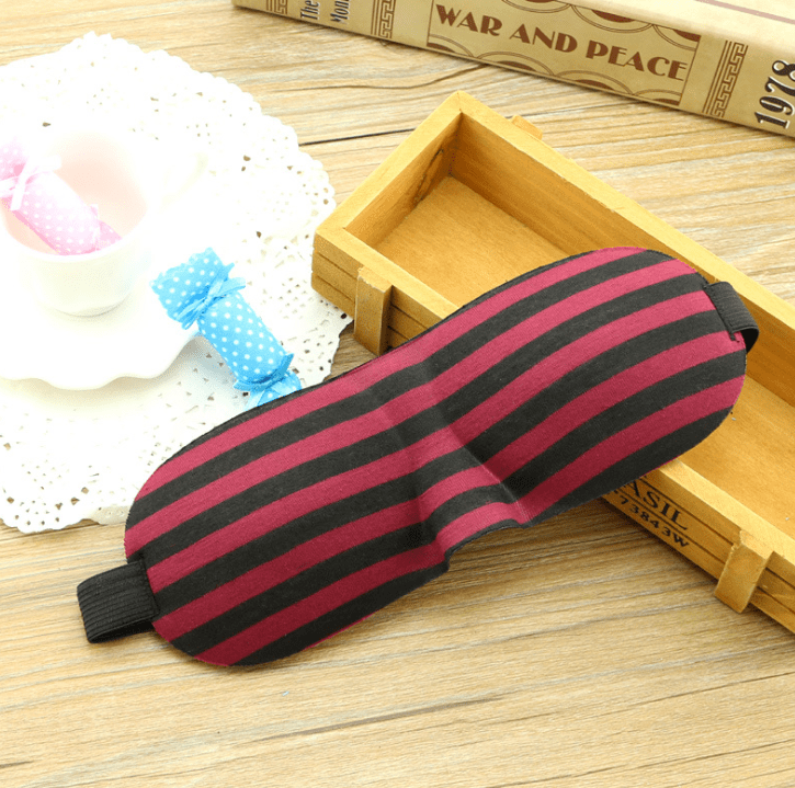 3D Soft Eye Mask Cover Eye Patch Sleeping Mask - FLJ CORPORATIONS