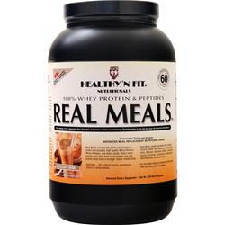 Healthy N Fit Real Meals Chocolate Shake 2.09 lbs - FLJ CORPORATIONS