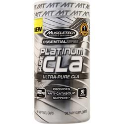 Muscletech Essential Series - Platinum Pure CLA 90 sgels - FLJ CORPORATIONS