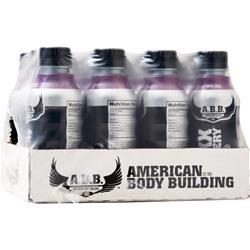 American Bodybuilding Maxx Recovery RTD Grape Frost 12 bttls - FLJ CORPORATIONS