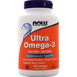 Now Ultra Omega-3 180 sgels - FLJ CORPORATIONS