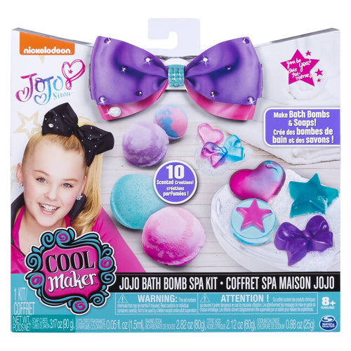 Cool Maker - JoJo Siwa Bath Bomb and Soap Spa Kit, for Ages 8 and Up - FLJ CORPORATIONS